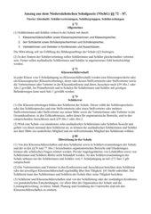 Schülermitbeteiligung im niedersächsischen Schulgesetz