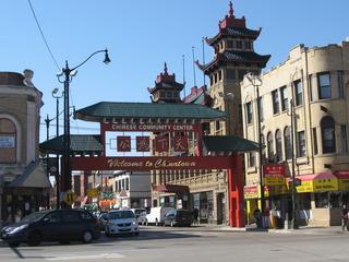 Chinatown in Chicago - Bauwerke, Städte, Sehenswürdigkeiten, USA, Chicago, Chinatown, Stadtviertel