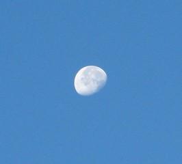 Mond - Mond, Himmel, Himmelskörper, leuchten, Mondphase, abnehmen