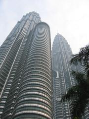 Petronas Towers2_Kuala Lumpur_Malaysia - Asien, Malaysia, Kuala Lumpur, Architektur, Gebäude, Petronas Tower, Skybrigde, Brücken