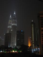 Petronas Towers4_Kuala Lumpur_Malaysia - Asien, Malaysia, Kuala Lumpur, Architektur, Gebäude, Petronas Tower, Skybrigde, Brücken, Wolkenkratzer, Zwillingsarchitektur