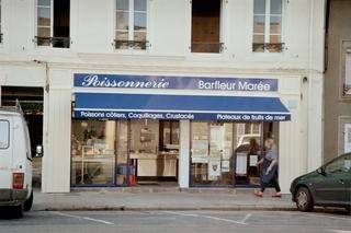 Französische Schilder #2 - Laden, Geschäft, Fisch poisonnerie, fruits de mer, coquillages, poissons