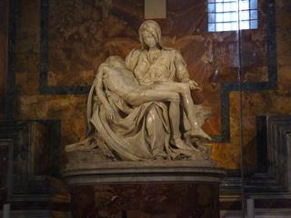 Pieta im Petersdom in Rom - Maria, Christus, Kunst, Antike, Kultur, Dom, Vatikan, Papst, Glaube, Pieta, Kunst, Skulptur, Michelangelo, Marmor