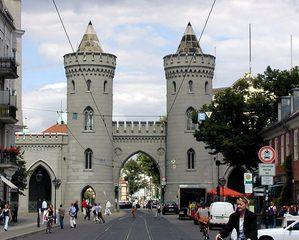 Nauener Tor in Potsdam - Architektur, Potsdam, Nauener Tor, Stadttor, Neogotik, Büring, Turm, Türme