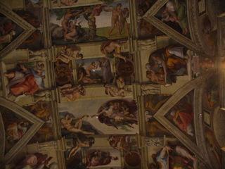 Sixtinische Kapelle in Rom - Erschaffung des Adam, Michelangelo, Deckengemälde, Kunst, Sixtinische Kapelle