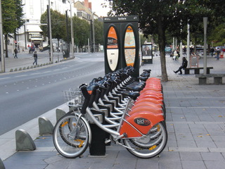 bicloo in Nantes - Nantes, vélo, civilisation