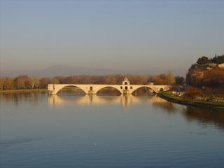 Avignon Pont Saint Bénézet - Avignon, pont, Brücke, Saint Bénézet, Provence, Frankreich