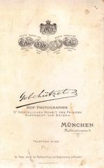 Werbung um 1895 - Werbung, 1895, Medaillen, München, Hoffotograf, Photograph, Fotograf, Prinz Rupprecht, Bayern