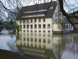 Hochwasser4 - Hochwasser, Weser, Überschwemmung, Holzminden