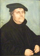 Luther - Lucas Cranach, 1533, Luther, Religion, Reformator, Protestant, evangelische Kirche, Augustinermönch, Theologieprofessor