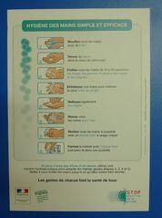 Anleitung Händewaschen - Händewaschen, Anleitung, laver les mains
