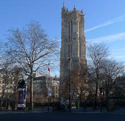 Tour St. Jacques - Turm, Jakob, tour, Jacques, gothique, gotisch, flamboyant, Flamboyantstil