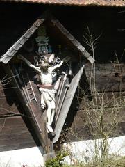 arma christi kreuz - Kreuz, Waffen, Christi, Andachtsbild, Holzfigur