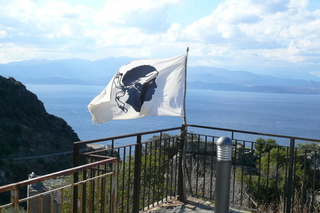 Korsische Flagge - Frankreich, Korsika, Insel, Flagge