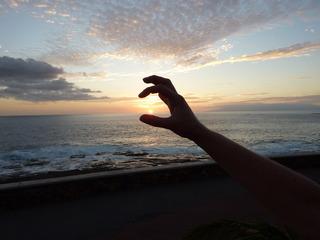 Sonnenuntergang - Sonnenuntergang, Meer, Abend, Meditation, Horizont, Himmelserscheinung, Sonne, Abendrot, Schreibanlass