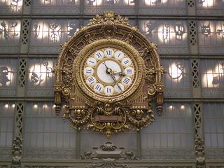 Uhr Musée d'Orsay Paris - Paris, Frankreich, musée d'Orsay, Uhr, Bahnhof