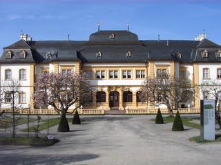 Schloss Veitshöchheim - Schloss, Veitshöchheim, Sommerresidenz, Fürstbischöfe von Würzburg, Schlosstreppe