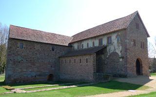 Einhardsbasilika #6 - Einhard, Basilika, Karolingerzeit, Kirchenbau, karolingische Baukunst