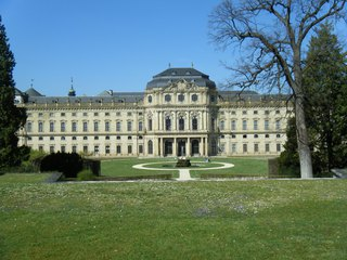 Residenz Würzburg - Residenz, Würzburg, Barock, Hofgarten, UNESCO, Weltkulturerbe