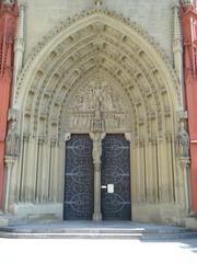 Marienkapelle Würzburg - Mariankapelle, Würzburg, Gotik, Eingang