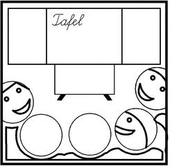 Piktogramm Tafelkino PS - Tafelkino, Piktogramm, Grafik, Sozialform, Kinositz