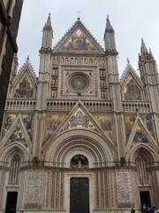 Dom von Orvieto #1 - Dom, Orvieto, Umbrien, Italien, Kirche, Architektur, Fassade