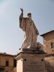 Benedikt von Nursia - Benedikt, Nursia, Norcia, Italien, Mönch, Benediktiner, Religion, Mönchtum