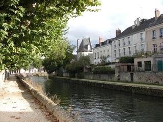 Kanal in Frankreich - Kanal, Canal, Frankreich, Montargis, Canal de Briare