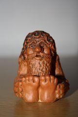kleine russische Bauernfigur #3 - Ton, Keramik, Russland, Souvenir, Kunsthandwerk, Bauer