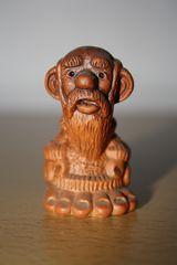 kleine russische Bauernfigur #2 - Ton, Keramik, Russland, Souvenir, Kunsthandwerk, Bauer