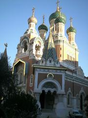 Nice: L'église russe Saint Nicolas - Frankreich, Nizza, Nice, église russe, église, Kirche, russische Kirche, Zwiebelturm