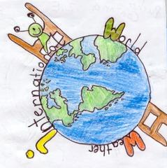 Wetter World - Globus, Wetter, Wetterfrosch, Welt