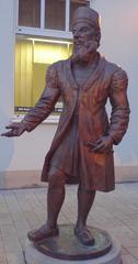 Adam Riese #1 - Denkmal, Skulptur, Adam Riese, Mathematik, Bronzeplastik