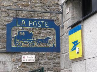 La poste - Frankreich, civilisation, Post, poste, magasin