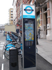 Barclays Cicle Hire - England, London, transport, cicle hire, Boris bikes, Barclays, Fahrrad, Fahrradverleih, Englisch