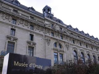 Musée d'Orsay 02 - Paris, Frankreich, Museum, Kunstmuseum, musée, musée d'Orsay, gare, Bahnhof