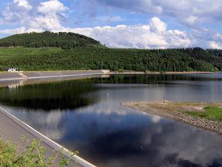 Granetalsperre #1 - Talsperre, Granetalsperre, Stausee, Harz, Staumauer, Wasser, Reservoir, Trinkwasser