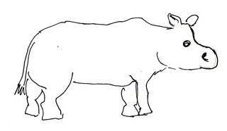 Nilpferd - Natur, Tier, Afrika, Nilpferd, Flusspferd, Anlaut N, Anlaut F, groß, schwer, Dickhäuter