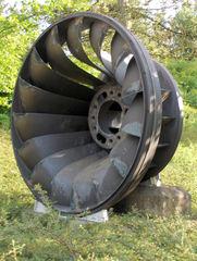 Granetalsperre #9 - Granetalsperre, Turbine, pumpen, Laufrad, Wasser, Trinkwasser, Harz, Technik, Physik, Wasserkraft, Elektrizität, Kraftwerk