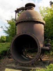 Granetalsperre #10 - Regulierschieber, Wasser, Technik, pumpen, Talsperre