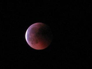 Mondfinsternis #1 - Mondfinsternis, Mond, Schatten, Erdschatten, Physik, Optik, Nacht, dunkel, Finsternis, finster, Astronomie
