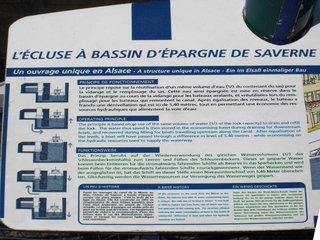 Saverne écluse - Frankreich civilisation, Schleuse, écluse, Marne, Rhin, Kanal