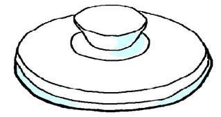 Deckel #1 - Deckel, Topfdeckel, Einzahl, Singular, Lautbildung, Wörter mit ck