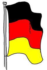 Fahne #2 - Fahne, Nomen, Einzahl, Singular, Lautbildung, Anlaut F, Flagge, Wörter mit h