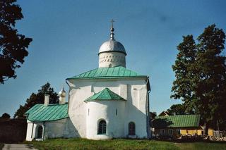 Kirche von Isborsk - Kirche, Russland, Isborsk, Pskow, Architektur, Bauweise