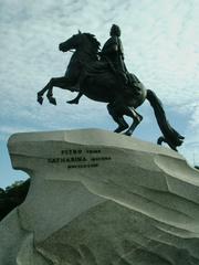 Denkmal Peter I. #2 - Denkmal, Peter der Große, Russland, Sankt Petersburg, Newa, eherner Reiter, kupferner Reiter, Reiterstandbild, Wahrzeichen, Mednyj Vsadnik, Granitblock