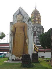 Buddha-Statue#3 - Ethik, Weltreligionen, Buddhismus, Buddha, Südostasien, Thailand, fotografiert am Wat Phra Sri in Phitsanulok