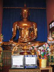 Goldener Buddha - Ethik, Weltreligionen, Buddhismus, Buddha, Südostasien, Tailand, Bangkok