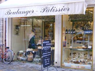 Boulanger Pâtissier - Frankreich, civilisation, boulanger, boulangerie, Bäcker, Konditor, pâtissier, pâtisserie, magasin, Geschäft