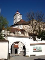 Schallaburg -Österreich #1 - Burg, Schloss, Sehenswürdigkeit, Tor, Turm, Einfahrt